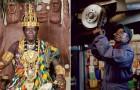 Ecco il re africano che lavora come meccanico e governa il suo popolo tramite Skype