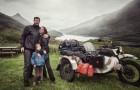 Ils parcourent 28.000 kilomètres, visitent 41 pays pour montrer le monde à leur enfant