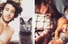 Una galleria che unisce ragazzi sexy e gattini: la combinazione è irresistibile!