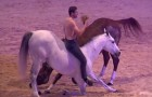 Santi Serra - a horse trainer with a special technique! Just look at what he can do! AMAZING!