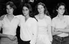La transformation fascinante de 4 sœurs photographiées chaque année depuis 40 ans
