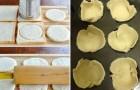 Cirkeltjes uit brood en een heerlijke vulling... deze pasteitjes zijn onweerstaanbaar!