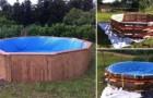 Come costruire una piscina funzionante in giardino... senza spendere una fortuna