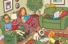 Slechts één volwassene op de drie vindt de 6 woorden die zijn verborgen in deze tekening. Ben jij daar één van?