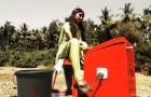 Lavare i panni senza usare l'elettricità: l'invenzione ingegnosa di una ragazza indiana