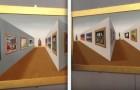 Osservate quest'opera d'arte prospettica: il vostro cervello avrà un sussulto!