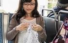 Questa donna cuce ogni giorno 50 minuti per 5 mesi: ciò che realizza è meraviglioso