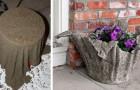 Come creare un bellissimo vaso usando solo un asciugamani e del cemento
