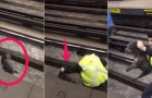 This subway operator stopped his train ---and the reason why has made him a hero!...