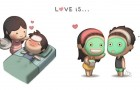 Una storia di 6 anni raccontata a fumetti: un uomo ci spiega cos'è l'Amore