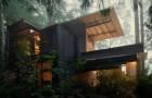 Een architect is 55 jaar bezig geweest met het voltooien van zijn huis... maar het was allemaal de moeite waard!