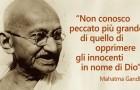 20 insegnamenti del Mahatma Gandhi di cui il mondo ha terribilmente bisogno