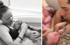 Decidono di far nascere i loro 2 gemelli in casa: le immagini raccontano un momento unico