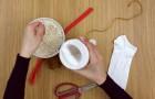 Ecco come trasformare un semplice calzino in una bellissima decorazione pasquale