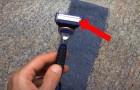 Met deze tip doe je veel langer van je scheermesje... Probeer het zelf!
