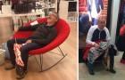 20 Fotos von Männern die in der Shoppin-Hölle gelandet sind