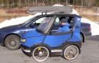 Iedereen denkt dat het een kleine auto is, maar wacht maar tot je de binnenkant ziet...