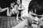 Elle décide d'élever ses enfants loin de la technologie : leurs photos font rêver
