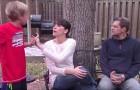 Seu filho a interrompia sempre, mas ela aprendeu um truque simples que pode ajudar muitos pais