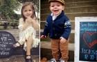 Questi bambini festeggiano la loro adozione con una foto: i loro sorrisi ci scaldano il cuore