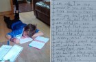 Une maîtresse demande à un enfant autiste de faire un poème: le texte est d'une incroyable puissance