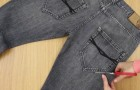 Wie man alte Jeans in einen Multifunktionsgürtel in zwei Minuten verwandeln kann