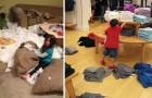 24 situazioni in cui la forza distruttiva dei bambini ha superato le aspettative dei genitori