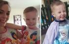 Il figlio decide di mascherarsi da principessa: la giovane mamma lo difende da una donna sgarbata