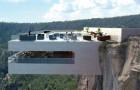 Interdit d'entrer pour les plus craintifs : voici le terrifiant bar suspendu sur un canyon mexicain