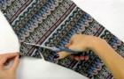 Comment transformer un legging en un top, en un seul coup de ciseau et sans couture