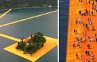 Lopen op het water voor 3 km: dit spectaculaire kunstwerk heeft de wereld veroverd!