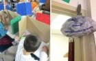 Fa scrivere ai bambini le loro insicurezze e prepara un sacco della 'Spazzatura': il motivo è una lezione per tutti