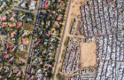 Ricchezza VS povertà: un drone riesce a rilevare la sconvolgente realtà