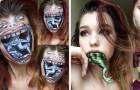 Mit nur 19 Jahren realisiert sie Meisterwerke der Make-Up-Kunst