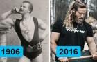Come è cambiato l'ideale di bellezza maschile negli ultimi 100 anni?