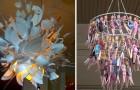 Créer un lustre? Voici les idées de certaines personnes qui l'ont fait avec des objets ABSURDES.