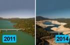 Diese 9 Vorher-Nachher Bilder sind der bedrückende Beweis für den Klimawandel