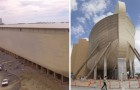 Ils recréent l'Arche de Noé selon les dimensions indiquées dans la Bible. Le résultat est épique