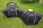 Camping en familia o con amigos? Con estas tiendas podran crear una pequeña aldea