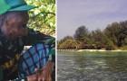 Vive da più di 40 anni su un'isola deserta: ecco il Robinson Crusoe... della vita reale!