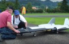 German man builds a real miniature jet plane --- Lift off is spectacular!