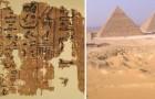 La construction de la pyramide de Kheops: un papyrus d'il y a 4500 ans la raconte au quotidien