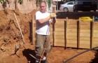 Seine Frau wollte einen grünen Garten, er einen Pool: Die Lösung die er fand ist zum Staunen!