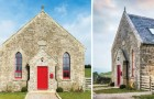 Une équipe d'architectes transforme une petite église du 19e siècle en une maison de vacances de rêve