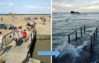 Interdit de se détendre sur la plage: voici des lieux où la marée prend des proportions épiques