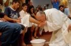 15 situations qui montrent que le Pape François est différent de ses prédécesseurs