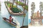 Ingénierie spectaculaire: voici comment fonctionnaient les jardins flottants des Aztèques