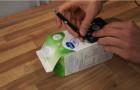 Ecco come trasformare un cartone del latte in un piccolo condizionatore... salva bolletta!