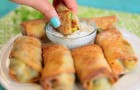 Gustosi involtini di avocado cotti al forno: squisiti e con pochissime calorie!
