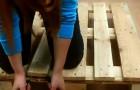 DIY Wooden Pallet Horizontal Planter